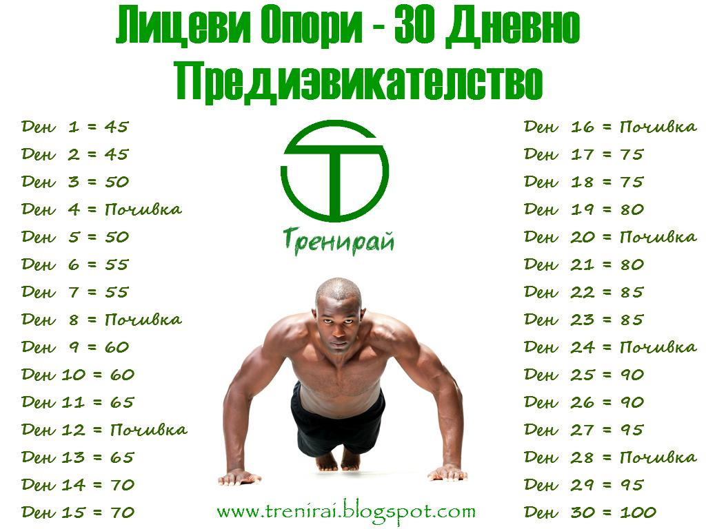 Лицеви Опори – 30 Дневно Предизвикателство
