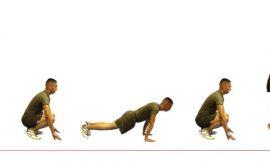 Бърпи Упражнение за Цялото Тяло