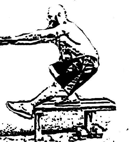 Клек с един по-високо поставен опорен крак