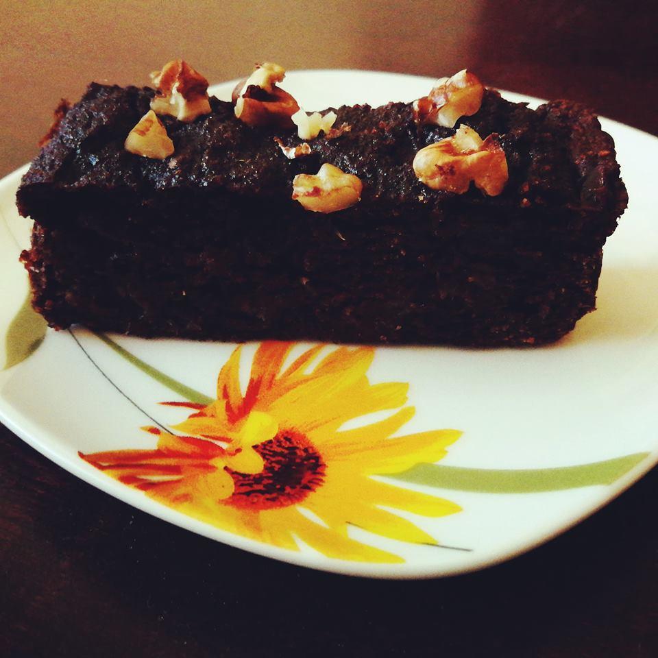Безгутенов кекс с фурми и какао - парченце