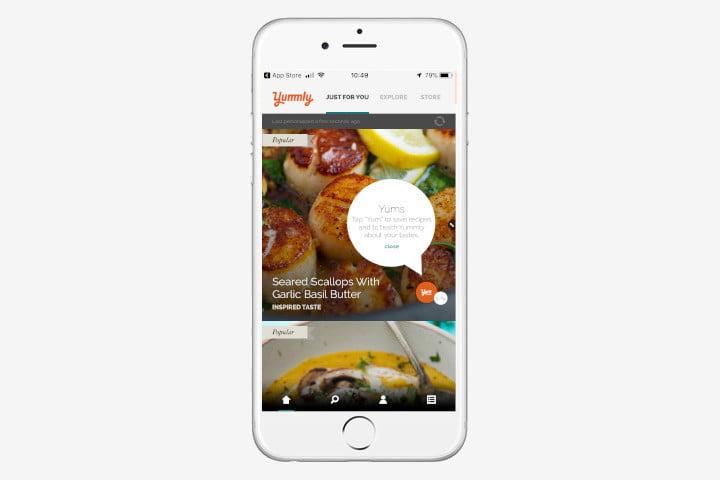 Yummly - 6 от Най-Добрите Приложения за Планиране на Храненето за 2019